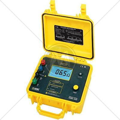 AEMC 4620 4-Point Ground Resistance Tester