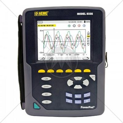 AEMC 8335 PowerPad 3-Phase Power Quality Analyzer