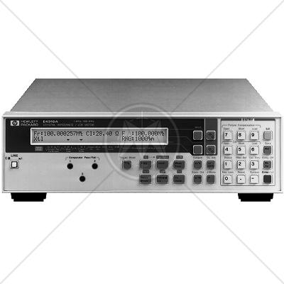 Keysight E4916A Crystal Impedance / LCR Meter