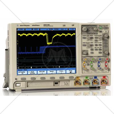 Agilent MSO7014B 4 Analog 16 Digital Channel 100 MHz Oscilloscope