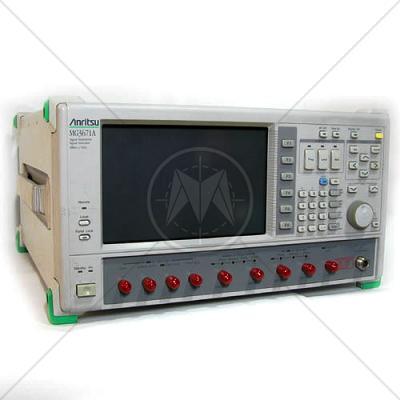Anritsu MG3671B Digital Mod. Signal Generator 300 kHz - 2.25/2.7GHz
