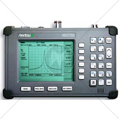 Anritsu MS2711A Handheld Spectrum Analyzer 100 kHz - 3 GHz