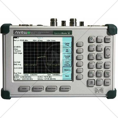 Anritsu MS2711D Handheld Spectrum Analyzer 100 kHz - 3 GHz