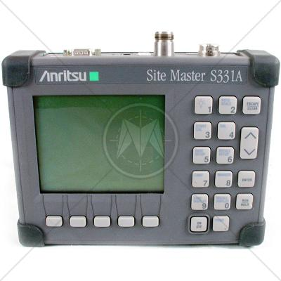 Anritsu S331A Cable and Antenna Analyzer 25 MHz - 3.3 GHz