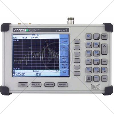 Anritsu S331D Cable & Antenna Analyzer 25 MHz - 4 GHz