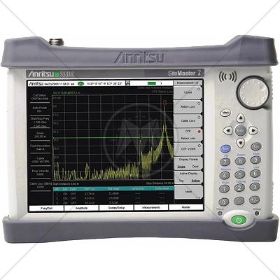 Anritsu S331E Cable & Antenna Analyzer 2 MHz - 4 GHz