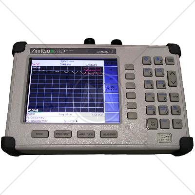 Anritsu S332D Cable & Antenna / Spectrum Analyzer 25 MHz - 4 GHz