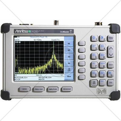 Anritsu S820D Transmission Line & Ant. Analyzer 2.0 MHz - 20.0 GHz
