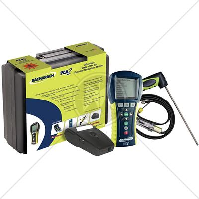 Bacharach PCA 3 Portable Combustion Analyzer Kit