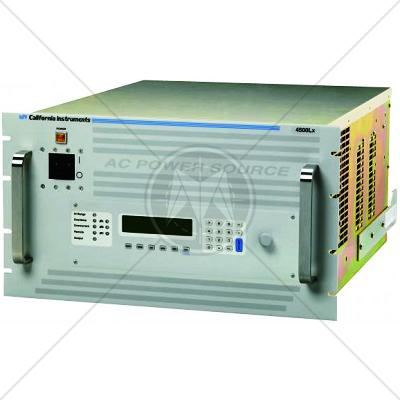 California Instruments 4500Lx Programmable AC Power Source 4.5kVA
