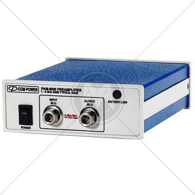 Com-Power PAM-6000 Preamplifier 1 GHz � 6 GHz