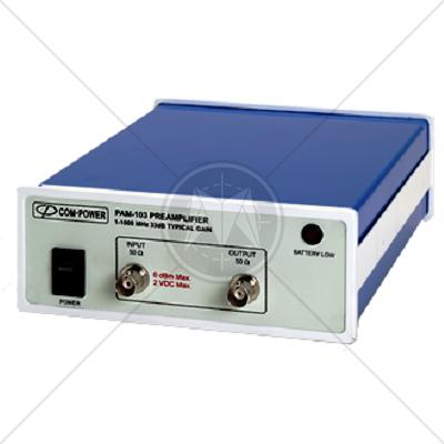 Com-Power PAM-103 Preamplifier 1 MHz � 1000 MHz