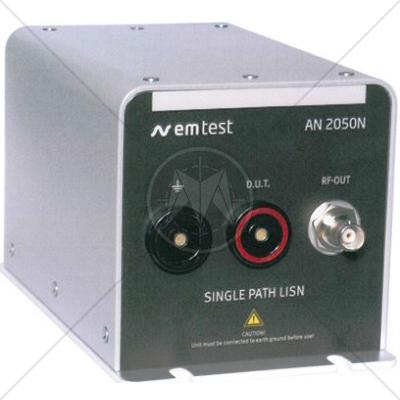 EM TEST AN 2050N Artificial Network Emission Test in Battery System