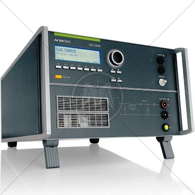 EM TEST CWS 500N3 Continuous Wave Simulator 10 Hz � 250 kHz