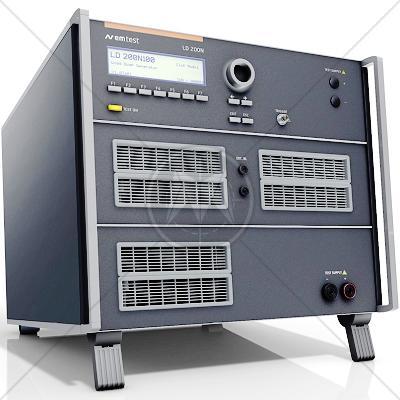 EM TEST LD 200N100 Load Dump Generator w/Clipping Mod/Battery Switch