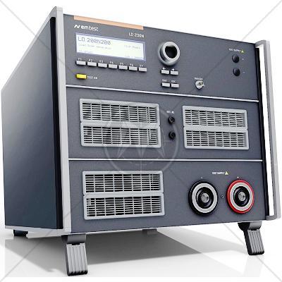 EM TEST LD 200N200 Load Dump Generator w/Clipping Mod/Battery Switch