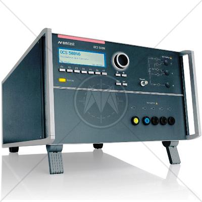 EM TEST OCS 500N6 Oscillatory Wave Simulator EN/IEC 61000-4-12/4-18