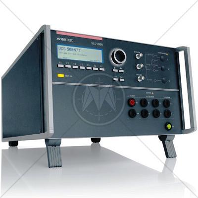 EM TEST VCS 500N7T Surge/Telecom Surge Generator 7kV