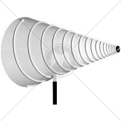 ETS-Lindgren 3103 Conical Log Spiral Antenna 100 MHz � 1 GHz