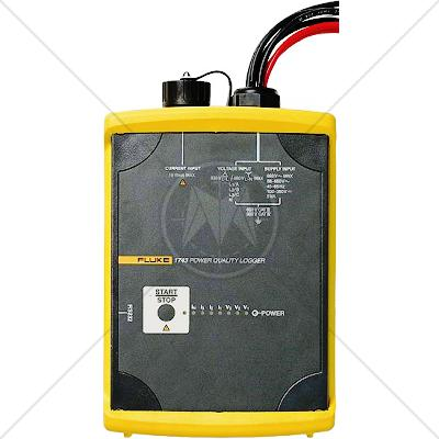 Fluke 1744 Three Phase Power Quality Logger Memobox