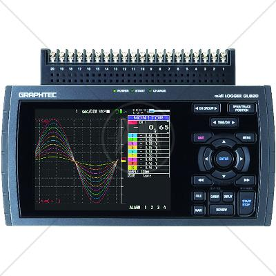 Graphtec GL 820 Data Acquisition / Data Logger 20 Channel