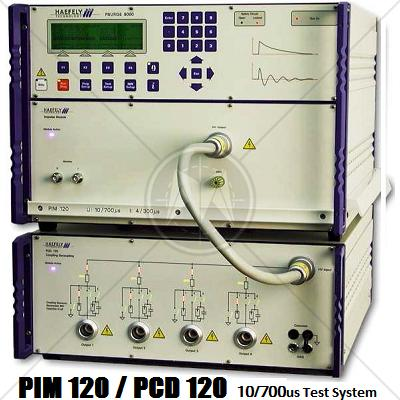 Haefely PIM 120 & PCD 120 10/700us Test System