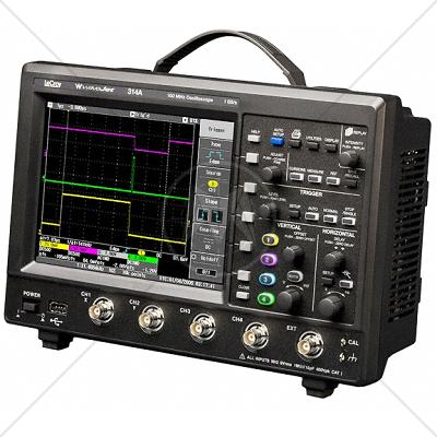 LeCroy WAVEJET 314A 4 Channel 100 MHz Oscilloscope 1 GSa/s