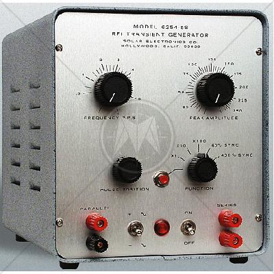 Solar Model 6254-5S RFI Transient Generator