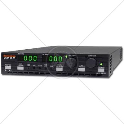 Sorensen DLM 40-15 Programmable DC Power Supply 40V 15A 600W
