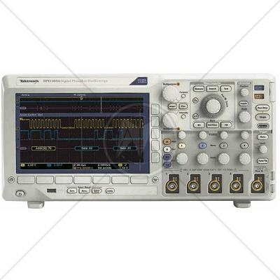 Tektronix DPO3054 4 Channel 500 MHz Digital Oscilloscope 2.5 GSa/s