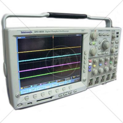Tektronix DPO4034 4 Channel 350 MHz Digital Oscilloscope 2.5 GSa/s