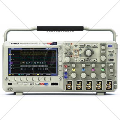 Tektronix MSO2024 4 Channel 200 MHz Oscilloscope 1 GSa/s