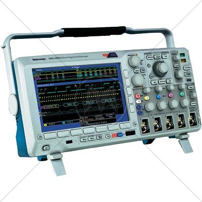 Tektronix MSO3034 4 Channel 300 MHz Oscilloscope 2.5 GSa/s