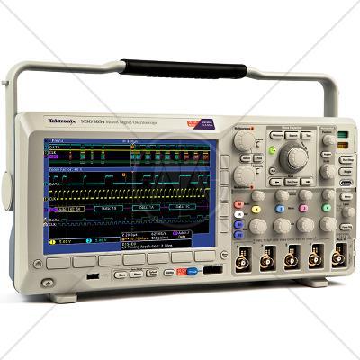 Tektronix MSO3054 4 Channel 500 MHz Oscilloscope 2.5 GSa/s