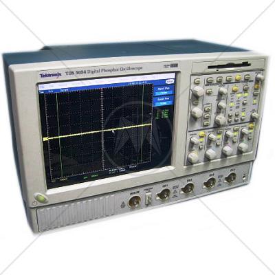 Tektronix TDS5054B 4 Channel 500 MHz Digital Oscilloscope 5 GSa/s