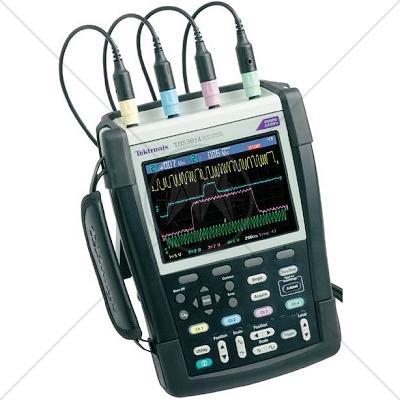 Tektronix THS3014 4 Channel 100 MHz Handheld Oscilloscope 2.5 GSa/s