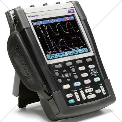 Tektronix THS3024 4 Channel 200 MHz Handheld Oscilloscope 5 GSa/s