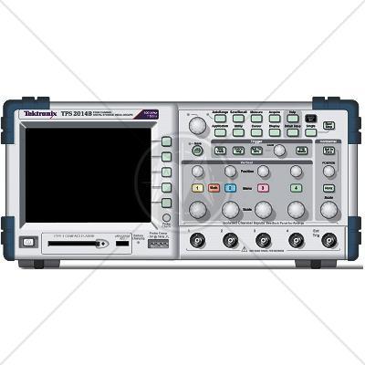Tektronix TPS2014B 4 Channel 100 MHz Digital Oscilloscope 1 GSa/s