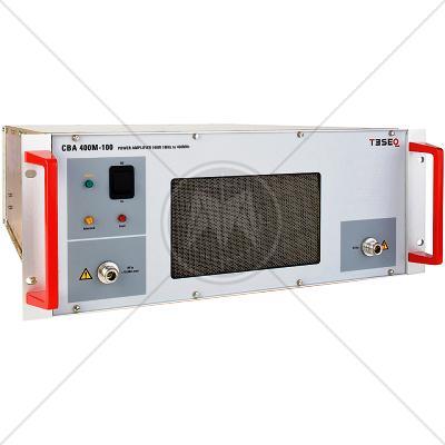 TESEQ CBA 400M-100 Class A Broadband Amplifier 1 MHz � 400 MHz 100 W