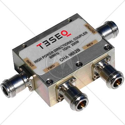 TESEQ CHA 9652B Dual Directional Coupler 80 MHz � 1 GHz