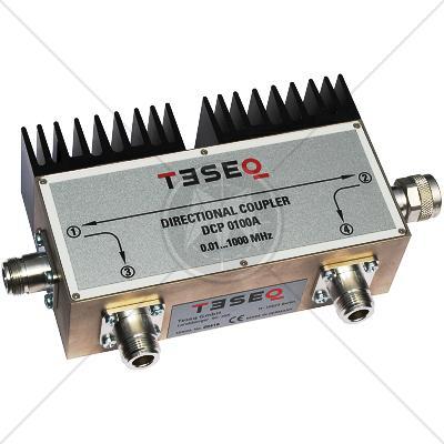 TESEQ DCP 0100A Dual Directional Coupler 10 kHz � 1 GHz
