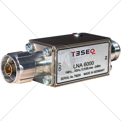 TESEQ LNA 6000 Low Noise Amplifier 1 MHz � 3 GHz