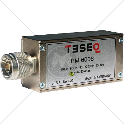 TESEQ PMR 6006 Power Meter 1 MHz � 6 GHz