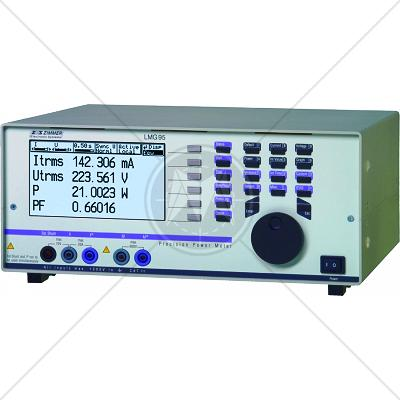 ZES Zimmer LMG95 Single Phase Precision Power Analyzer